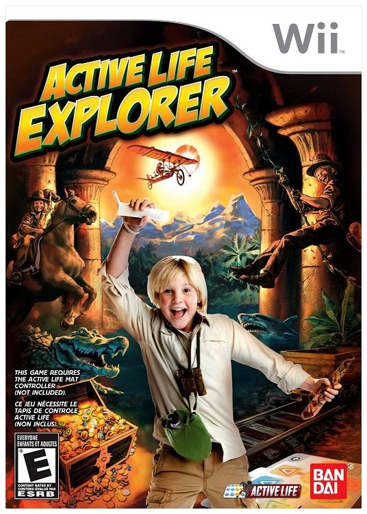 Active Life Explorer Nintendo Wii Game