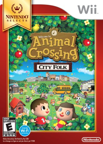 NAnimal Crossing City Folk: Nintendo Selects intendo Wii Game