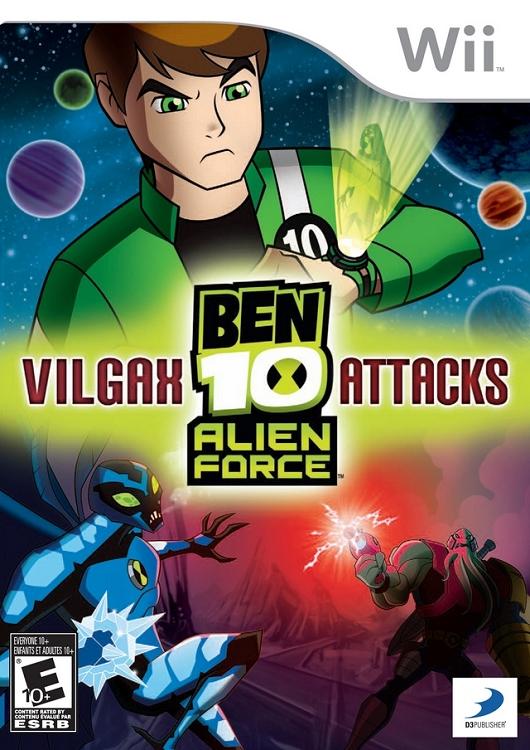 Ben 10: Alien Force: Vilgax Attacks Nintendo WII Game