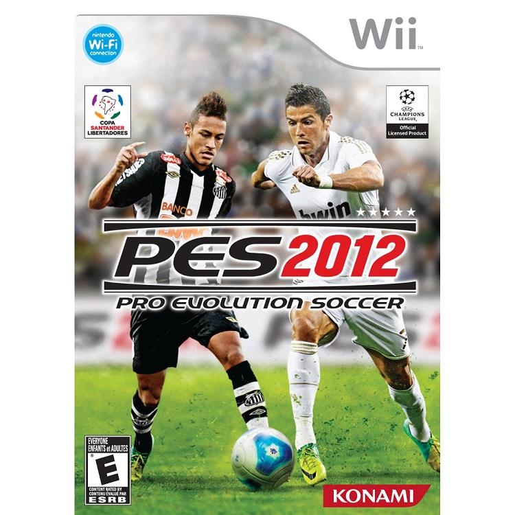 Wii Games List 2012 : Pro evo soccer nintendo wii game