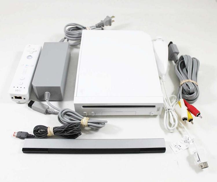 Wii White Console Refurbished