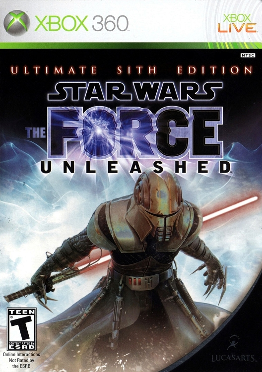 Star Wars Force Unleashed Ultimate Sith Xbox 360 game