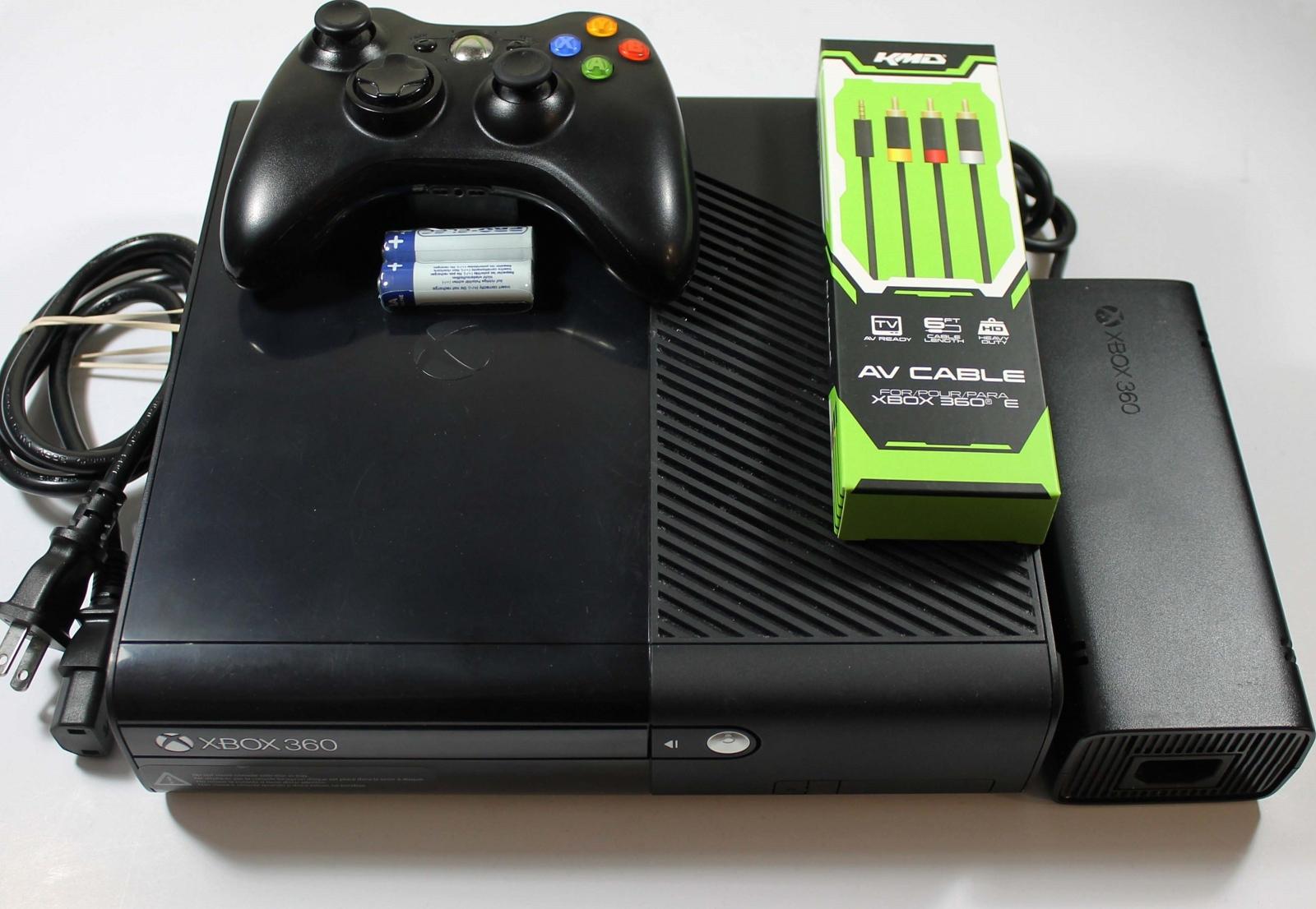 Used XBOX 360 E Console 4GB Complete System