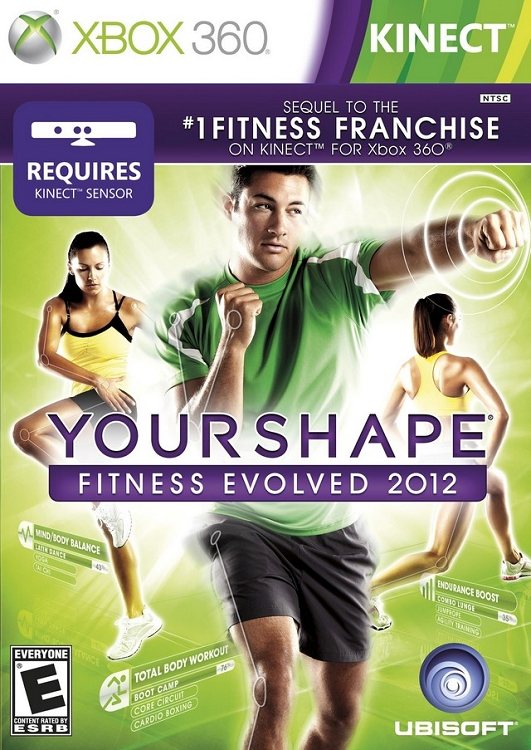 Xbox 360 Games 2012 Your Shape: Fitness Ev...