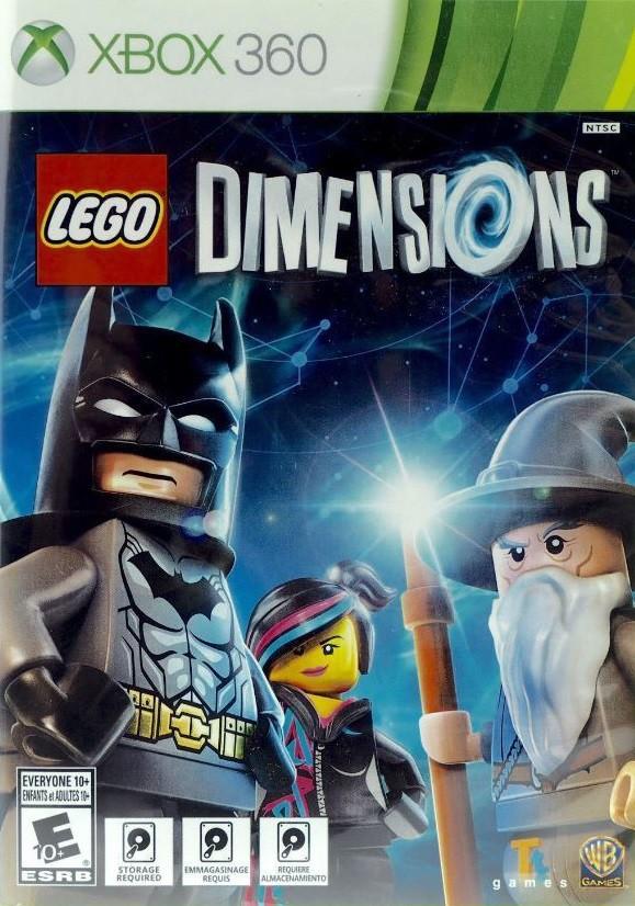 Lego Dimensions Microsoft Xbox 360 Game