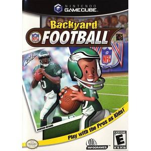 backyard football gamecube game